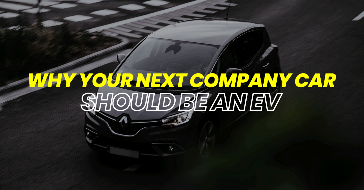 Why your next company car should be an EV